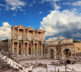 Printed kitchen splashbacks Turkey Celsus Library in Ephesus