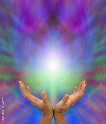 Sacred Lotus Flower Healing Energy Stock Photo And Royalty Free