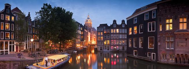 Printed roller blinds Amsterdam St Nicholas Church, Amsterdam