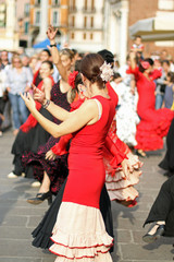 flamenco dancers expert and Spanish dance