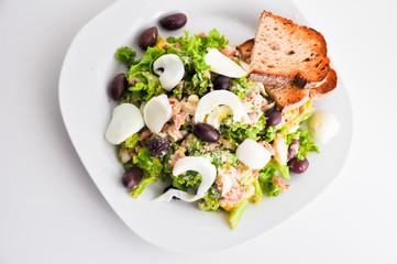tuna salad low calories recipe