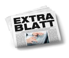 Zeitung Extrablatt