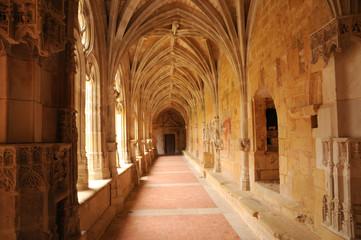 Cadouin abbey in Perigord