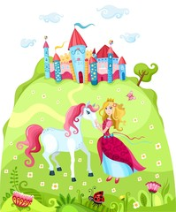 Poster Castle princess