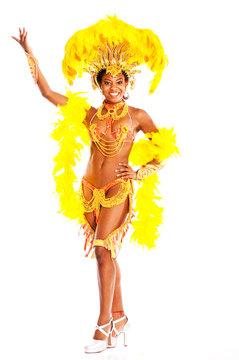 Brasilianische Sambatänzerin