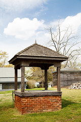 Old Brick Well in Yard