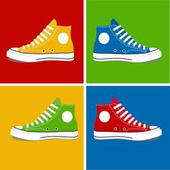 ZAPATILLAS colores 2