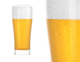 Bier Glas Kombination