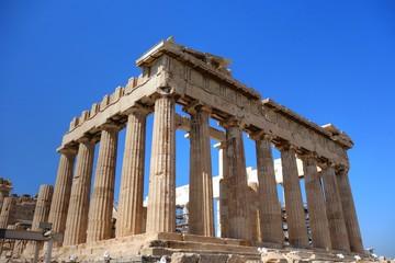 Le Parthénon de l'Acropole d'Athènes en Grèce