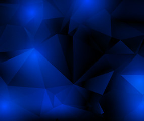blue  dark  triangles  abstract  background