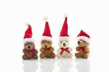 Weihnachts-Bären