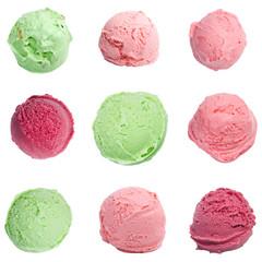Ice cream scoops set