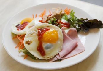 Breakfast, american style