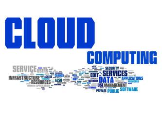 cloud computing text cloud