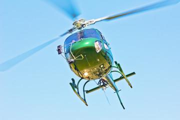 Hubschrauber im Überflug