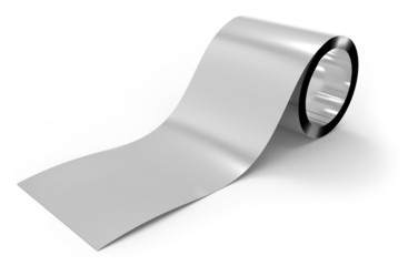 Roll of metal foil