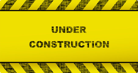 background with construction symbol