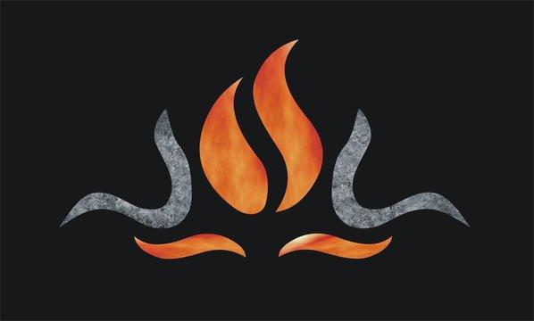 Fire Oven Flammen