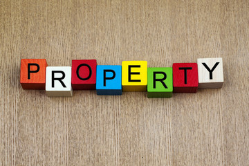 Property - business & real estate sign