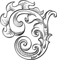 Acanthus swirll