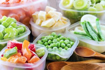 Gemüse - gefroren - frozen vegetables