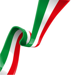 italian background with flag