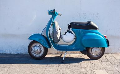 Fotorolgordijn Scooter Vespa