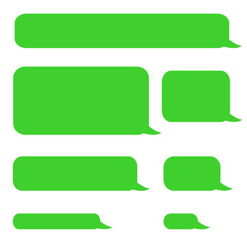 background phone sms chat bubbles