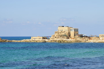 The Caesarea National Park, Israel