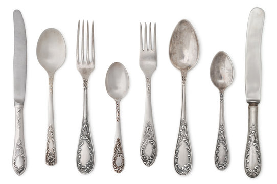 vintage old cutlery