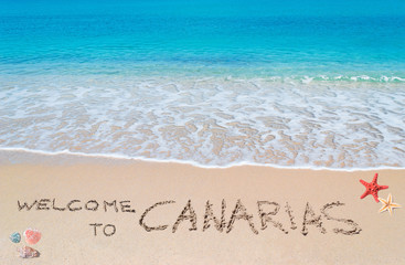 welcome to Canarias