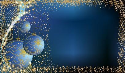 bożonarodzeniowa dekoracja z bombkami