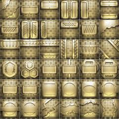 golden background set