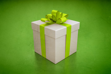 gift box green