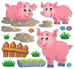 Pig theme collection 1