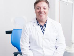 Dental Clinic. Portrait of the dentist