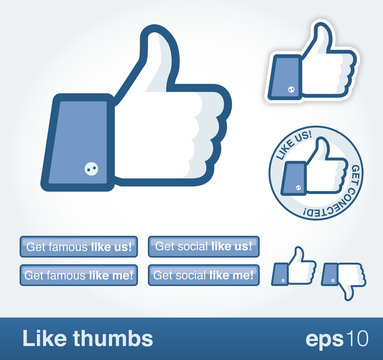 Like thumb