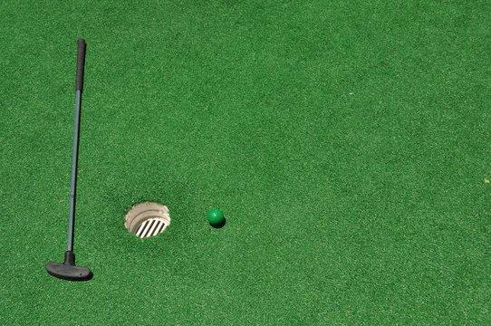 Mini Golf Background 2