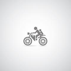 Fototapete - Motorcycle symbol