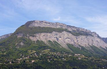 Verdon Mountain at Grenoble City (Provence - Alpes, France).
