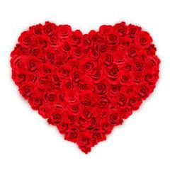 Rotes Rosen-Herz