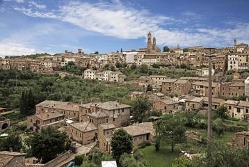 Fototapete - Montalcino. Tuscany, Italy