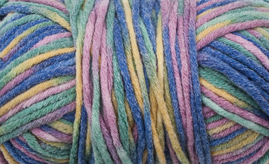 Colored Wool Background