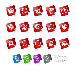 Communications - The Vector file includes 5 color versions