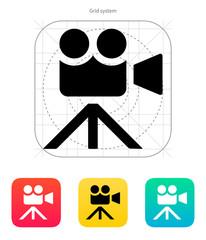 Movie camera icon.