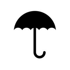 umbrella symbol vector