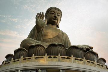 The Giant Buddha of Po Lin Monastery - Hong Kong