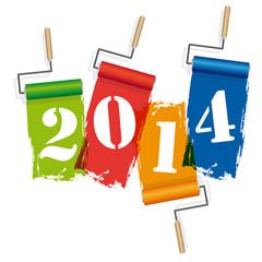 2014-Rouleaux de peinture