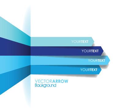 blue arrow line background