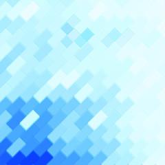 Business concept blue mosaic background